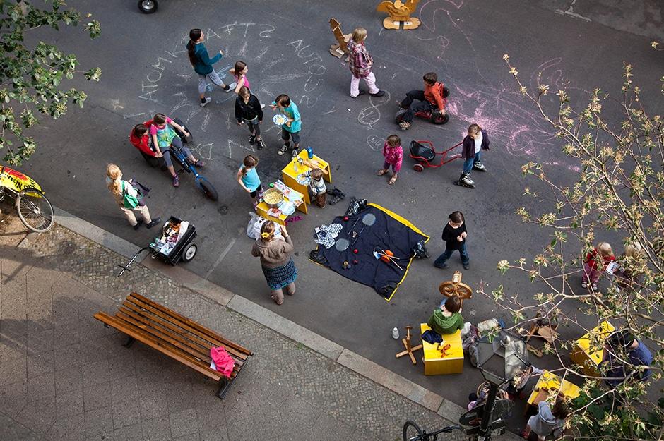 Bockenheim außer Haus: Straßen für Menschen