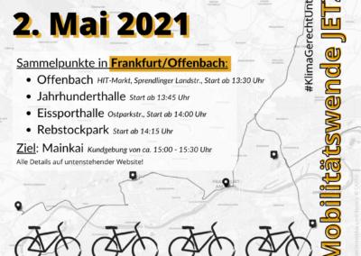 Streckenkarte Frankfurt/Offenbach